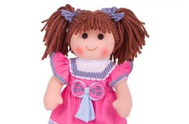 Lalka szmaciana Emma dla dziewczynek