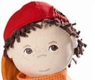 Szmaciana lalka chłopiec