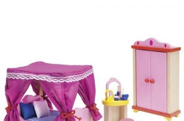 Mebelki dla lalek - sypialnia
