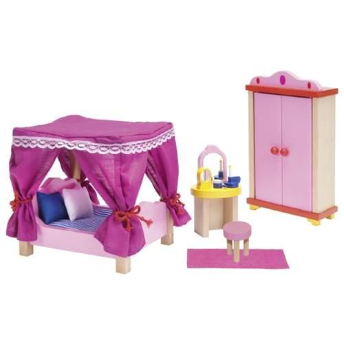 Mebelki dla lalek – sypialnia