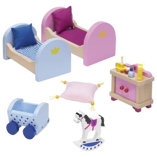 Meble do domku dla lalek pokój dla dzieci