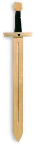 Drewniany miecz rycerski