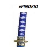 Miecz Ninja niebieski do zabawy dla dzieci