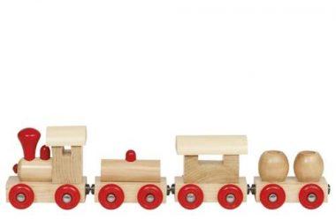 Pociąg drewniany dla dzieci