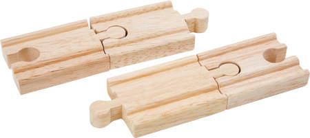 Drewniane tory krótkie do kolejek
