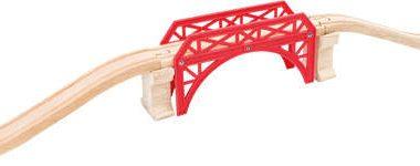 Most do kolejek drewnianych + tory