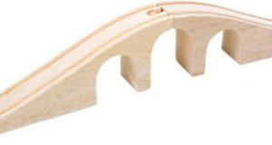 Tory z mostem do kolejek drewnianych