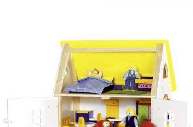Wiejski domek dla lalek