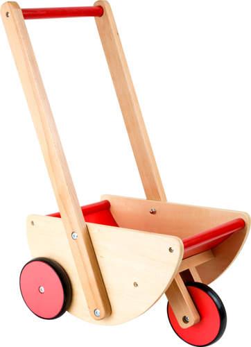 Wózek dla lalek na trzech kółkach