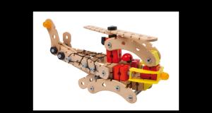 Zabawka konstrukcyjna dla dzieci Helikopter ratunkowy