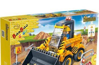 Zabawki konstrukcyjne dla chłopcow Traktor