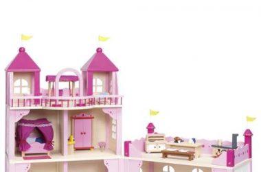 Zamek dla lalek drewniany