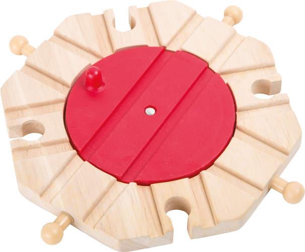 Zwrotnica do kolejek drewnianych