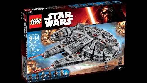 Star Wars Millennium Falcon Klocki Lego