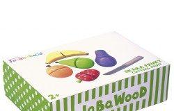 Owoce do krojenia dla dzieci drewniane