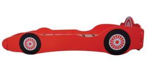 Kidsaw łóżko auto dla dzieci Racing Car czerwone