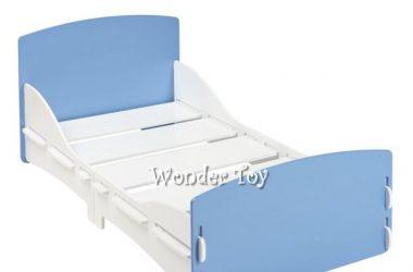 Kidsaw niebieskie łóżko dziecięce Shorty Blue