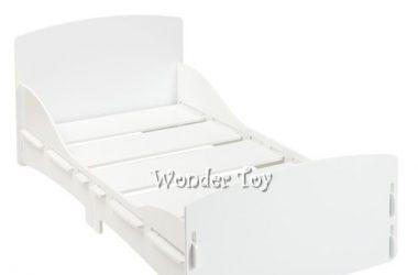 białe łóżko dziecięce Kidsaw Shorty WHITE