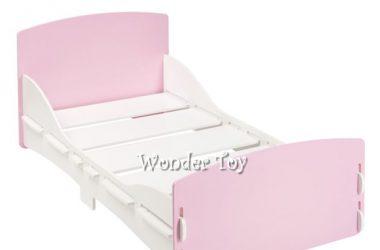 łóżko do pokoju dziewczynki Kidsaw różowe