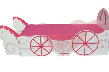 łóżko kareta Kopciuszka dla dziewczynki Kidsaw