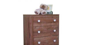 Dziecięca komoda z szufladami Pati