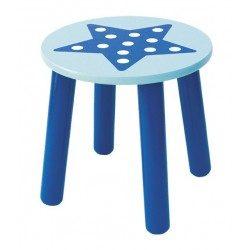 Krzesełko dla dzieci niebieska gwiazda