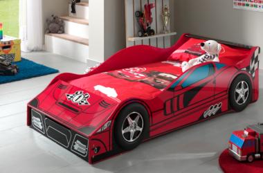 łóżko dla dziecka 140x70 cm AUTO samochód