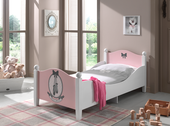 Pojedyncze łóżko Dla Dziewczynki Balerina Dla Dziecka