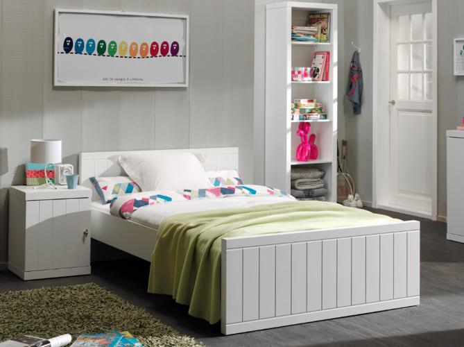 Łóżko młodzieżowe 90×200 cm Robin White