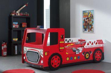 łóżko wóz strażacki dla dziecka