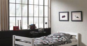 Pojedyncze łóżka sosnowe dla dziecka Pino sosna biała