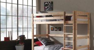 dziecięce łóżko piętrowe Pino - sosna naturalna