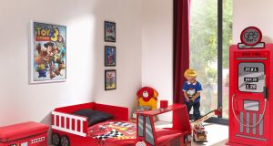 Łóżko Straż Pożarna dla dziecka 140x70cm