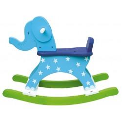 Słoń na biegunach niebieski