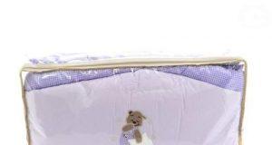 Pościel dla niemowląt 120x90 fioletowa