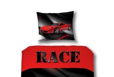 Pościel samochód wyścigowy Race Car