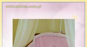 Różowa pościel do łóżeczka zestaw 5-el. Słodki Sen