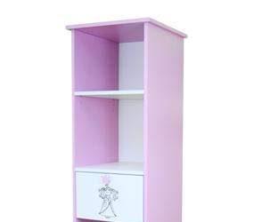 Różowy regał dla dziewczynki Princess
