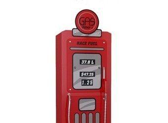 Jednodrzwiowa szafa dla chłopca - dystrybutor paliwa