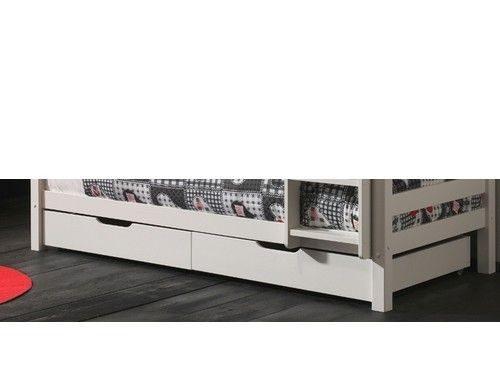 Szuflada pod łóżko biała Pino