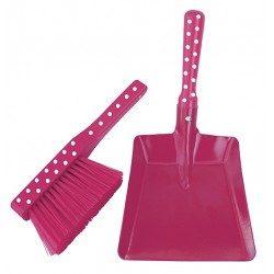 Zestaw do sprzątania dla dzieci różowy