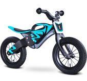 Rowerek biegowy dla chłopca Enduro Toyz Caretero czarno-niebieski