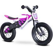 rowerek biegowy dla dziewczynki Enduro Toyz Caretero biało-fioletowy