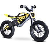 rowerek biegowy drewniany Enduro Toyz Caretero czarno-żółty