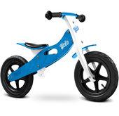 rowerek biegowy na pompowanych kołach Velo Toyz Caretero niebieski