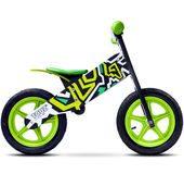 Rowerek biegowy Toyz Zap Caretero czarno-zielony