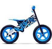 rowerek biegowy dla dzieci Zap Toyz Caretero czarno-niebiski