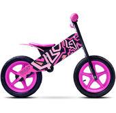 Rowerek biegowy Zap Toyz Caretero czarno-różowy