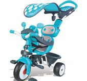 Rowerek od 10 miesięcy trójkołowy 4w1 Baby Driver Comfort Smoby niebieski