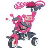 Rowerek trójkołowy 4w1 Baby Driver Comfort Smoby różowy